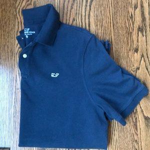 Boys Vinyard Vines knit polo.